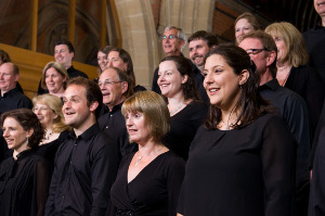 Reading Phoenix Choir close up