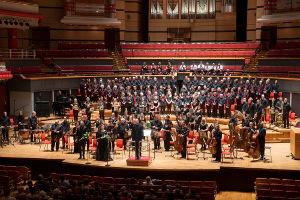 Birmingham Bach Choir - End on stage