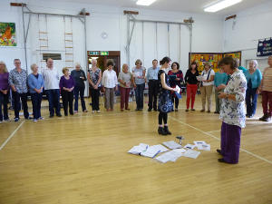 Making Music - Juliet Harwood, Jenni Pinnock and the Quangle Wangle Choir