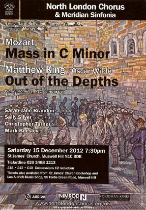 North London Chorus - Poster