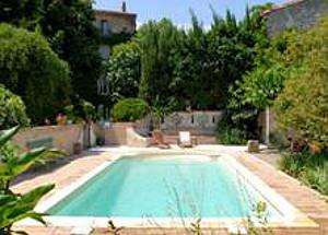 Swimming pool at La Maison Verte
